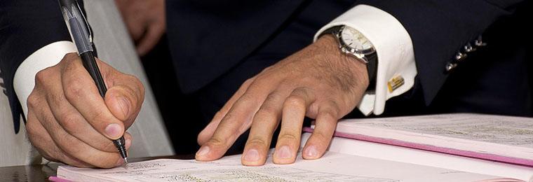 firma convenio UNADE y UPCT